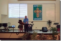 HOPE Advance 2015 at Febias College Of Bible 2